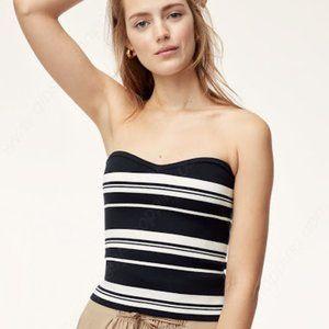 ✨ NWOT Striped Olaf Tube Top | Babaton